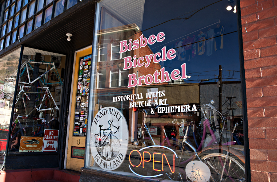 Bisbee, Arizona Bicycle Brothel.  Sierra Vista, Arizona Photographer Robert Butterfield