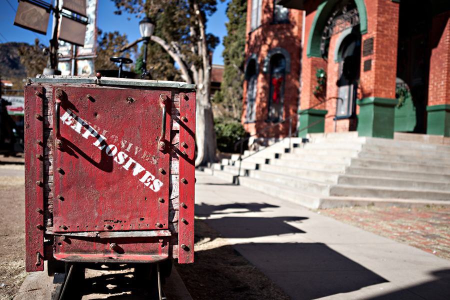 Bisbee, Arizona Museum.  Sierra Vista, Arizona Photographer Robert Butterfield