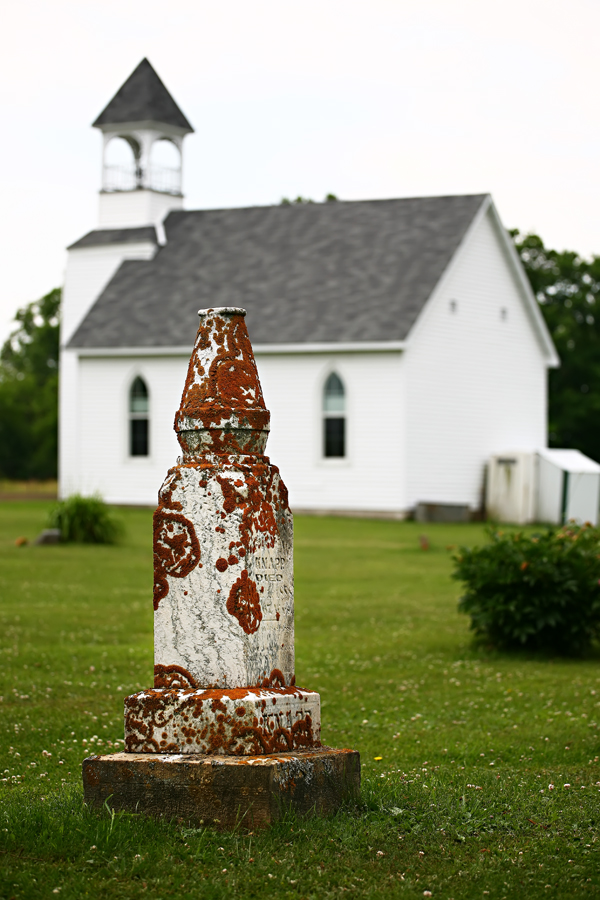 An Amish Church and graveyard in Cashton, Wisconsin; Robert Butterfield, Butterfield Photography