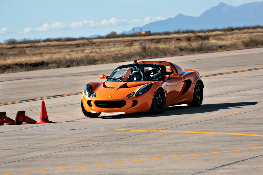 Sierra Vista Sports Photographer, Robert Butterfield from Butterfield Photography captures a SCCA Solo event held by Sierra Sports Car Club