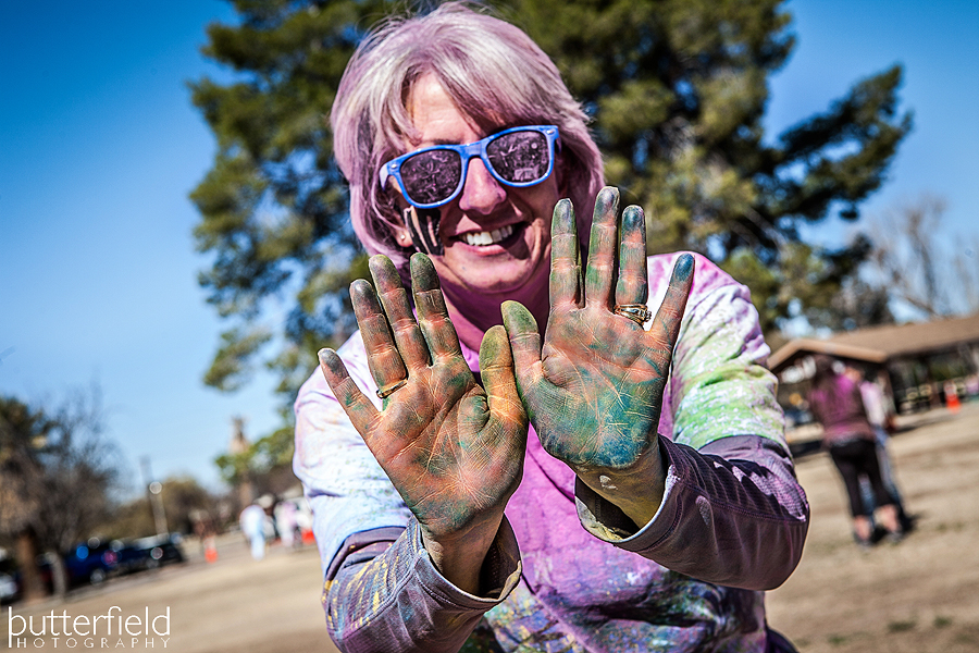 Color Me Rad in Tucson, Arizona captured by Freelance Sports Photographer Robert Butterfield- Butterfield Photography Sierra Vista, Arizona