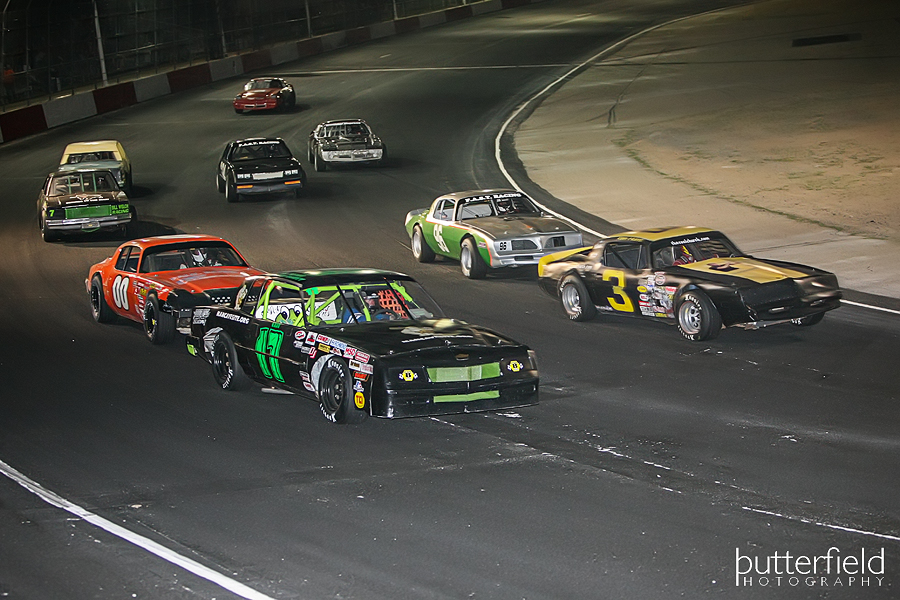 Pro Stock Action at Tucson Speedway in Tucson, Arizona - Robert Butterfield from Butterfield Photography