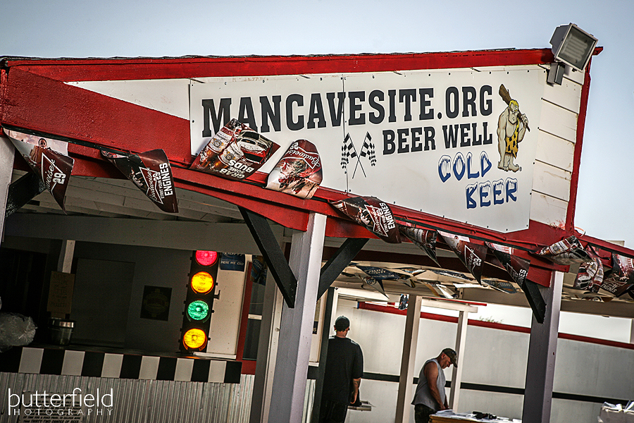MANCAVESITE.org Beer Well at Tucson Speedway - Robert Butterfield from Butterfield Photography